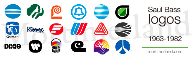 Best Corporate Logo Designers In History Tribute To Saul Bass