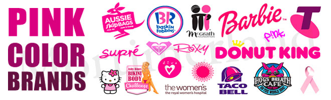 corporate logo designers mortimerland colours pink