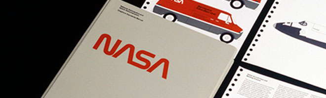 brand identity design story of nasa logo