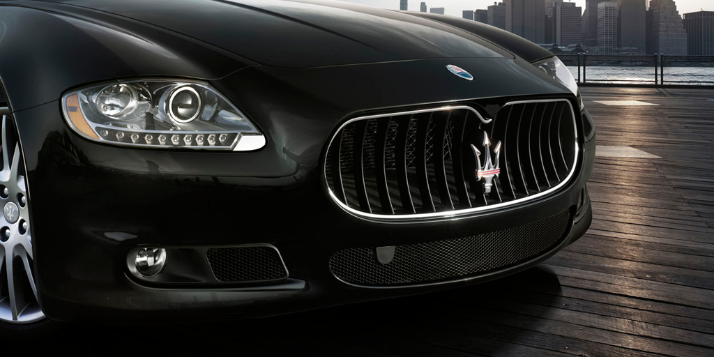 Maserati logo design