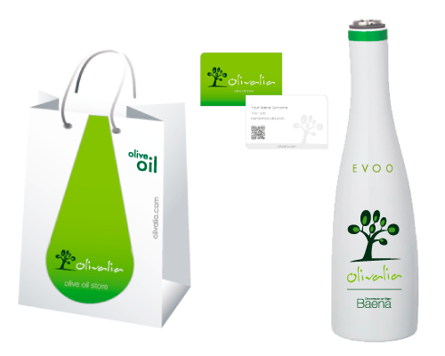 olive oil company - corporate & packaging