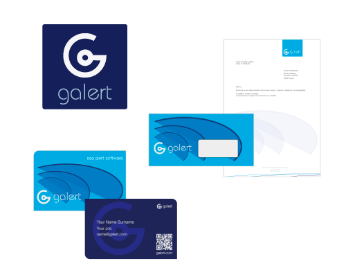 corporate branding design - sea alert