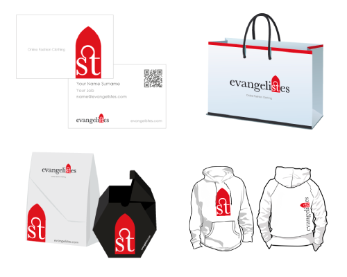fashion clothing - corporate design and packaging
