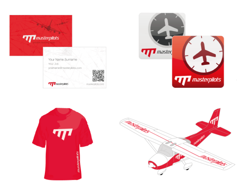 aviation training academy - corporate design