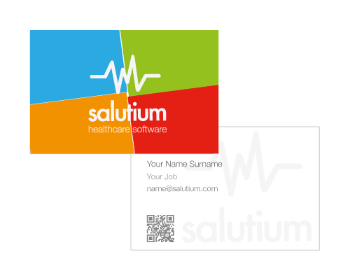 business card design - healthcare company