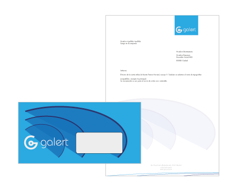 business card design branding - sea alert