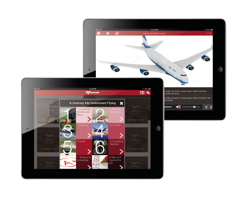 general - aviation learning website design