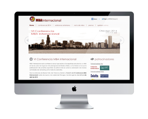 general - MBA national congress  website design