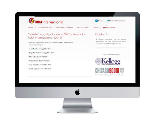detail 2 - MBA national congress website design